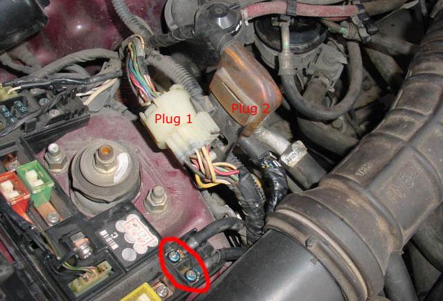 passenger side plugs